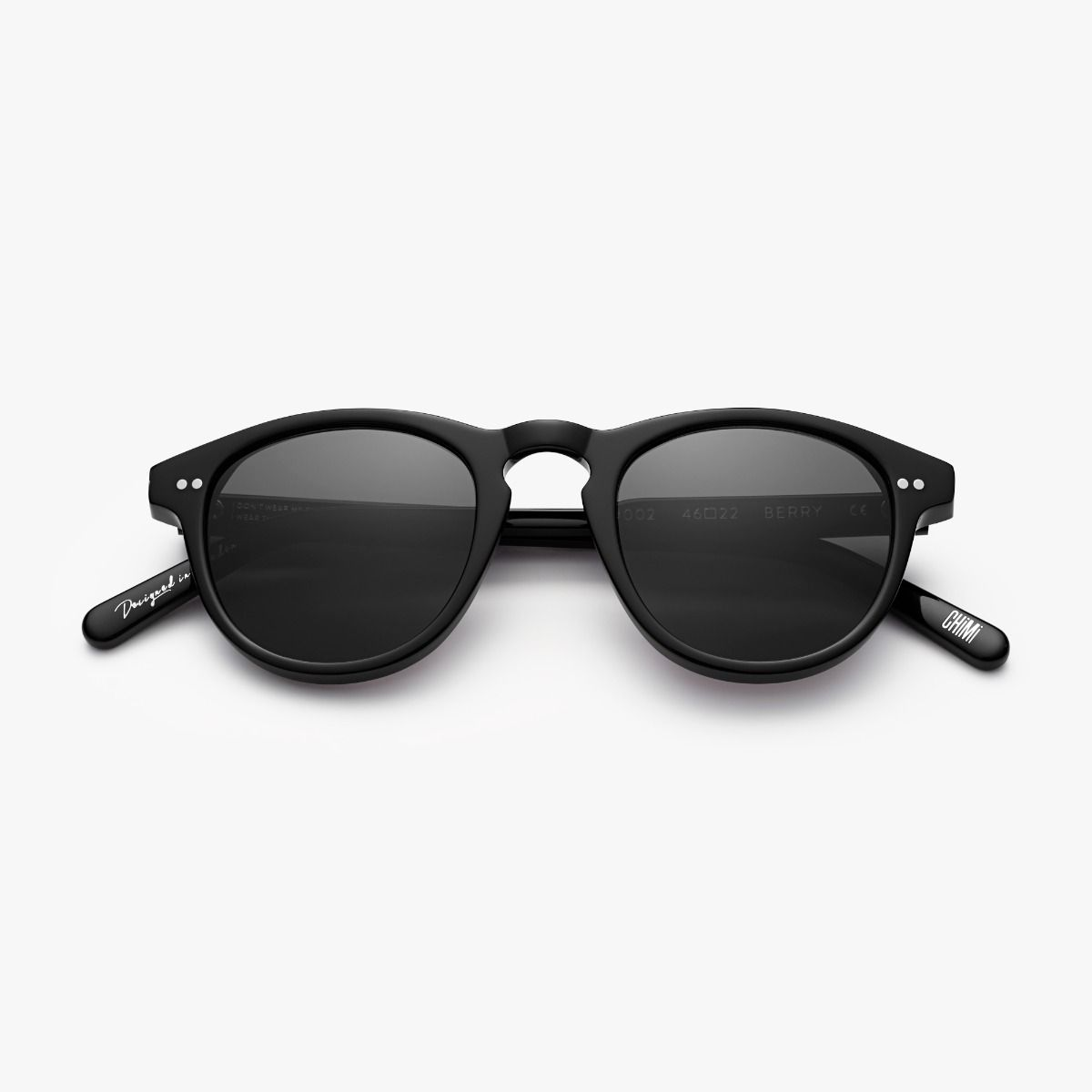 Lunettes de soleil Berry 002 Black – Collection Chimi Eyewear I