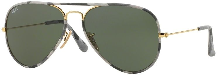 Ray-Ban Aviator Camouflage RB3025JM 171 55