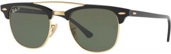 Ray-Ban Clubmaster Double Bridge RB3816-901/58-51