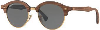 Ray-Ban Clubround Wood RB4246M-118158-51