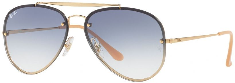 Ray-Ban Blaze Aviator Flat Lenses RB3584N-001/19