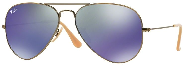Ray-Ban Aviator Flash Lenses RB3025 167/68 55