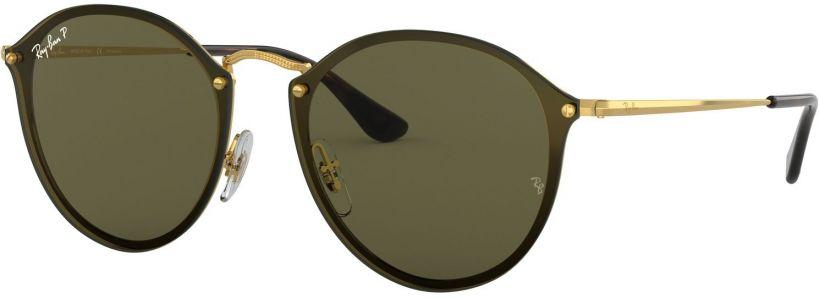 Ray-Ban Blaze Round Flat Lenses RB3574N-001/9A