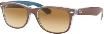 Ray-Ban New Wayfarer Color Mix RB2132-618985-52