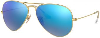 Ray-Ban Aviator Large Metal Flash Lenses RB3025-112/17-55