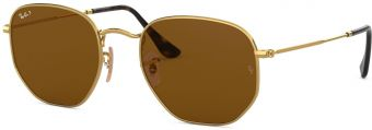 Ray-Ban Hexagonal Flat Lenses RB3548N-001/57-54
