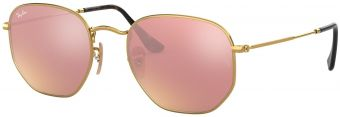 Ray-Ban Hexagonal Flat Lenses RB3548N-001/Z2-51