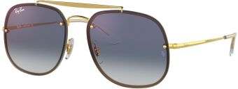 Ray-Ban Blaze The General Flat Lenses RB3583N-001/X0-58