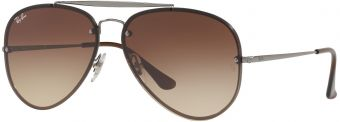 Ray-Ban Blaze Aviator Flat Lenses RB3584N-004/13-61