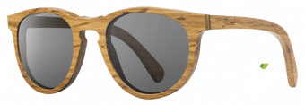 Shwood Belmont: Oak - Grey Polarized