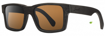 Shwood Haystack: Dark Walnut - Brown Polarized