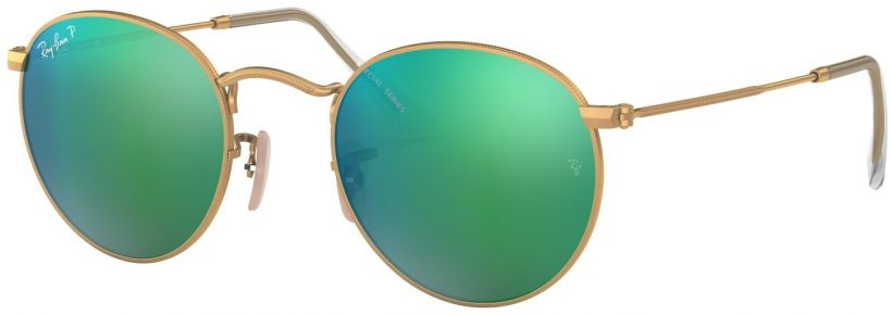 Ray-Ban Round Metal Flash Lenses RB3447-112/P9