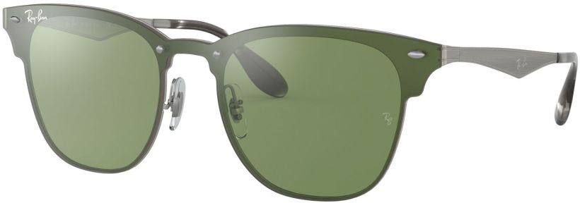 Ray-Ban Blaze Clubmaster Flat Lenses RB3576N-042/30