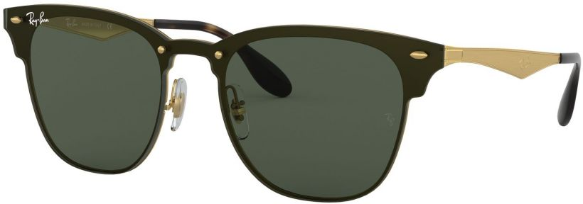 Ray-Ban Blaze Clubmaster Flat Lenses RB3576N-043/71
