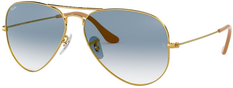 Ray-Ban Aviator Large Metal Gradient RB3025-001/3F